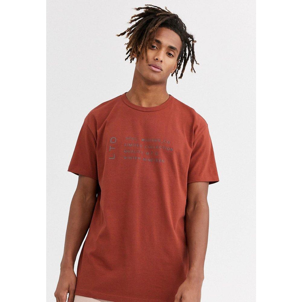 Topman - LTD - T-shirt - Rouge - Topman - Modalova