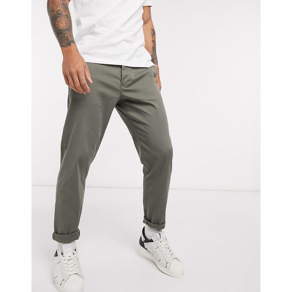 Pantalon chino fuselé - Kaki - Topman - Modalova