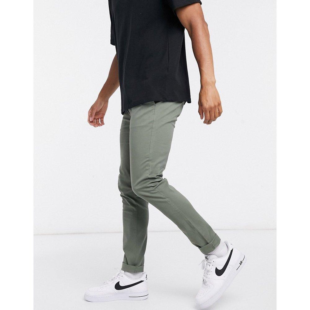 Pantalon chino super skinny - Kaki - Topman - Modalova