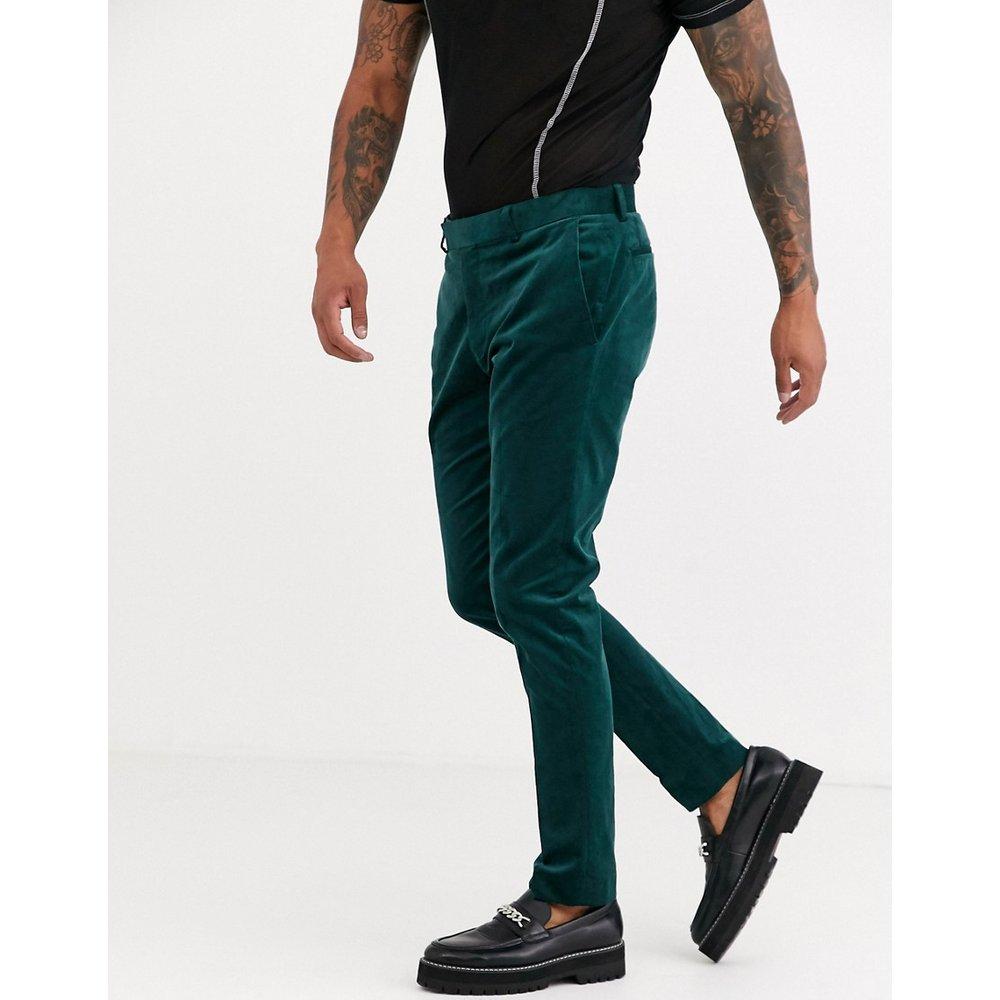 Pantalon de costume slim en velours côtelé - Topman - Modalova