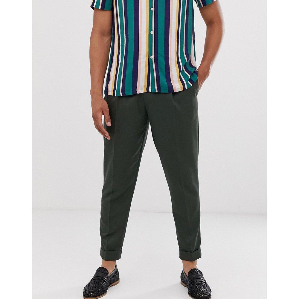 Pantalon habillé plissé - Topman - Modalova