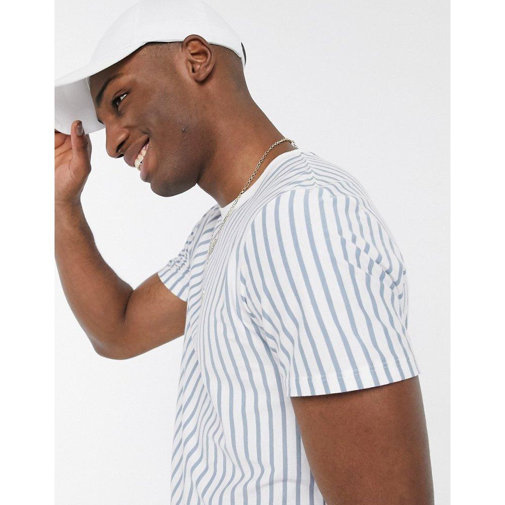 T-shirt rayé - et blanc - Topman - Modalova