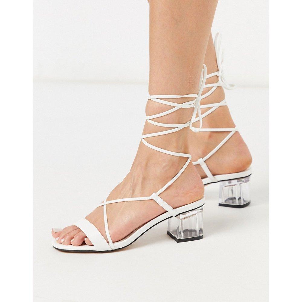 Chaussures à brides et talon carré - Topshop - Modalova