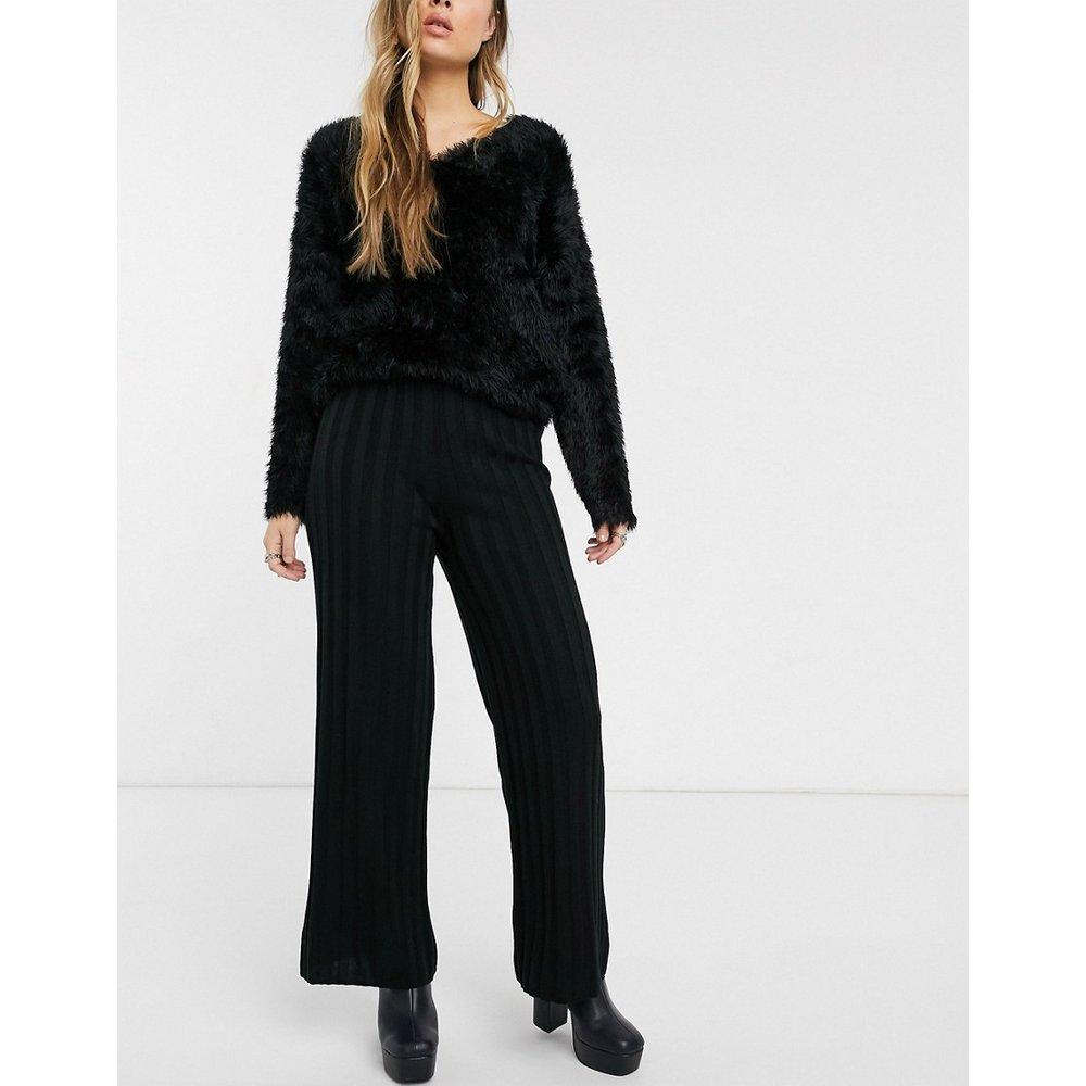 Pantalon en maille côtelée - Topshop - Modalova