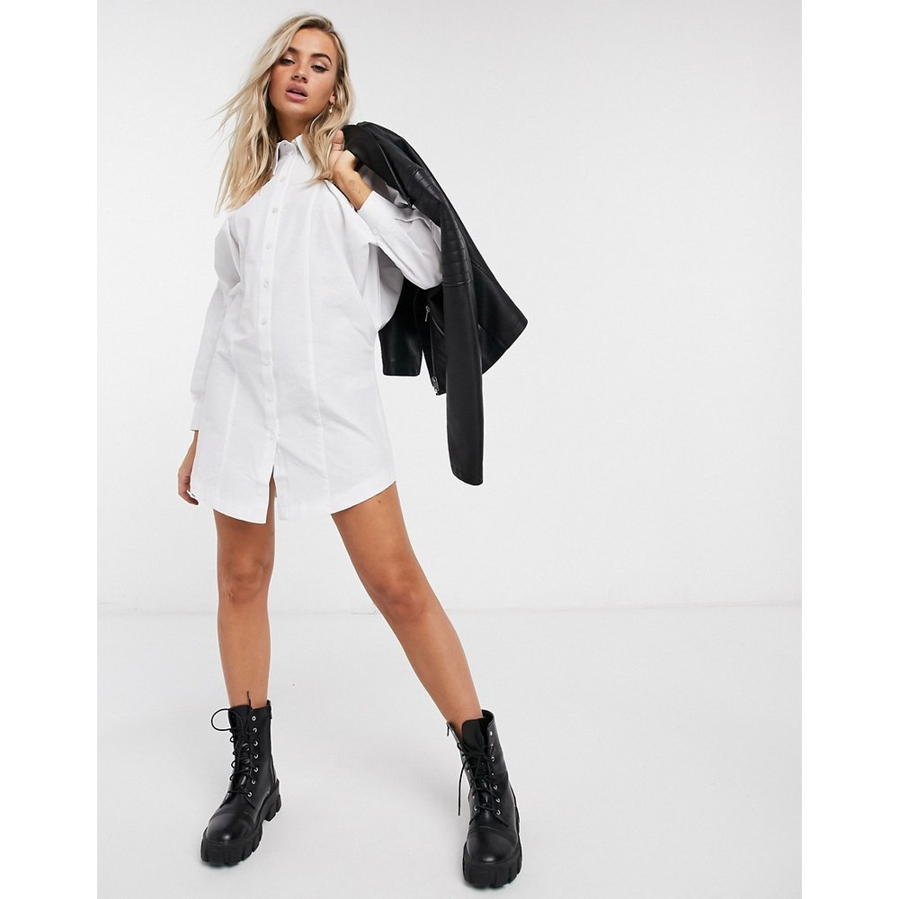 Topshop -Robe chemise - Blanc - Topshop - Modalova