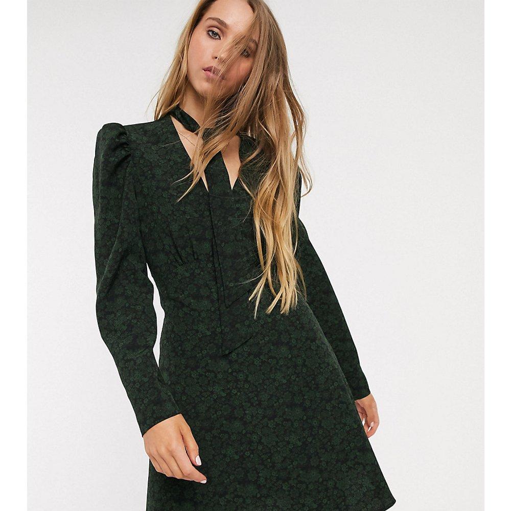 Robe chemise courte - bouteille - Topshop Tall - Modalova