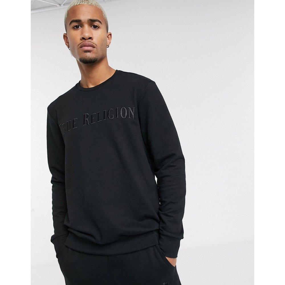 Sweat-shirt à logo brodé - True Religion - Modalova