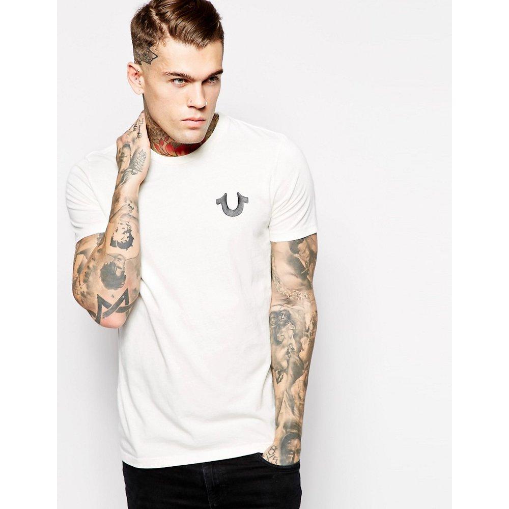 T-shirt avec logo gothique dans le dos - True Religion - Modalova