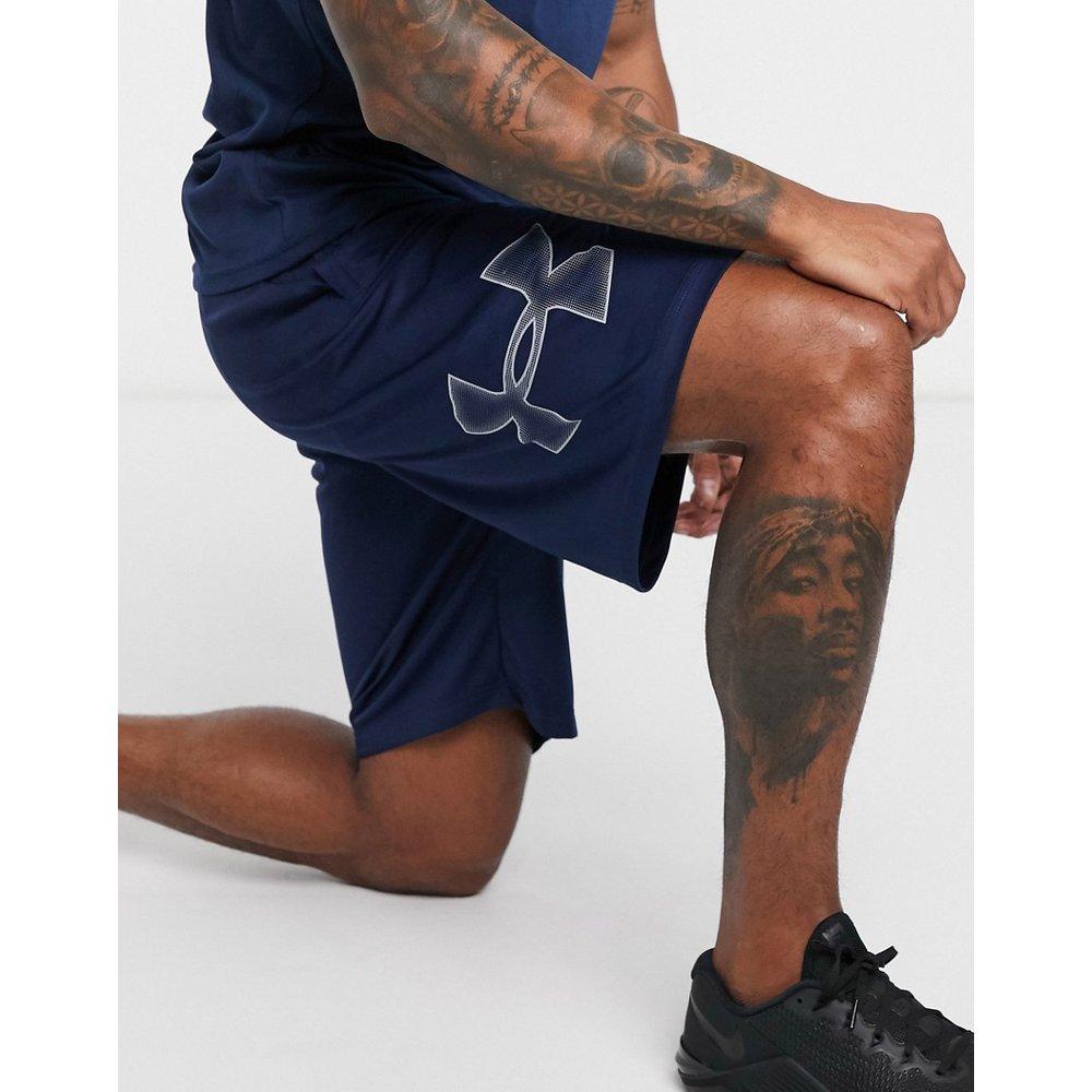 Short à logo - Bleu marine - Under Armour - Modalova