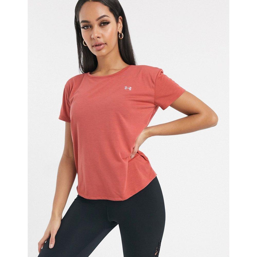 T-shirt en tulle - Rose - Under Armour - Modalova