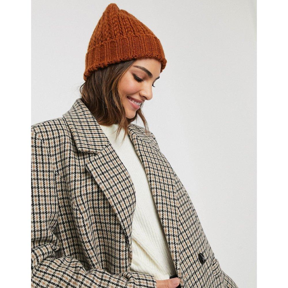 Bonnet en laine - Rouille - Urbancode - Modalova
