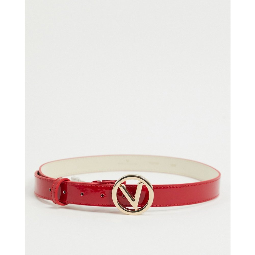Ceinture avec logo rond - Valentino by Mario Valentino - Modalova