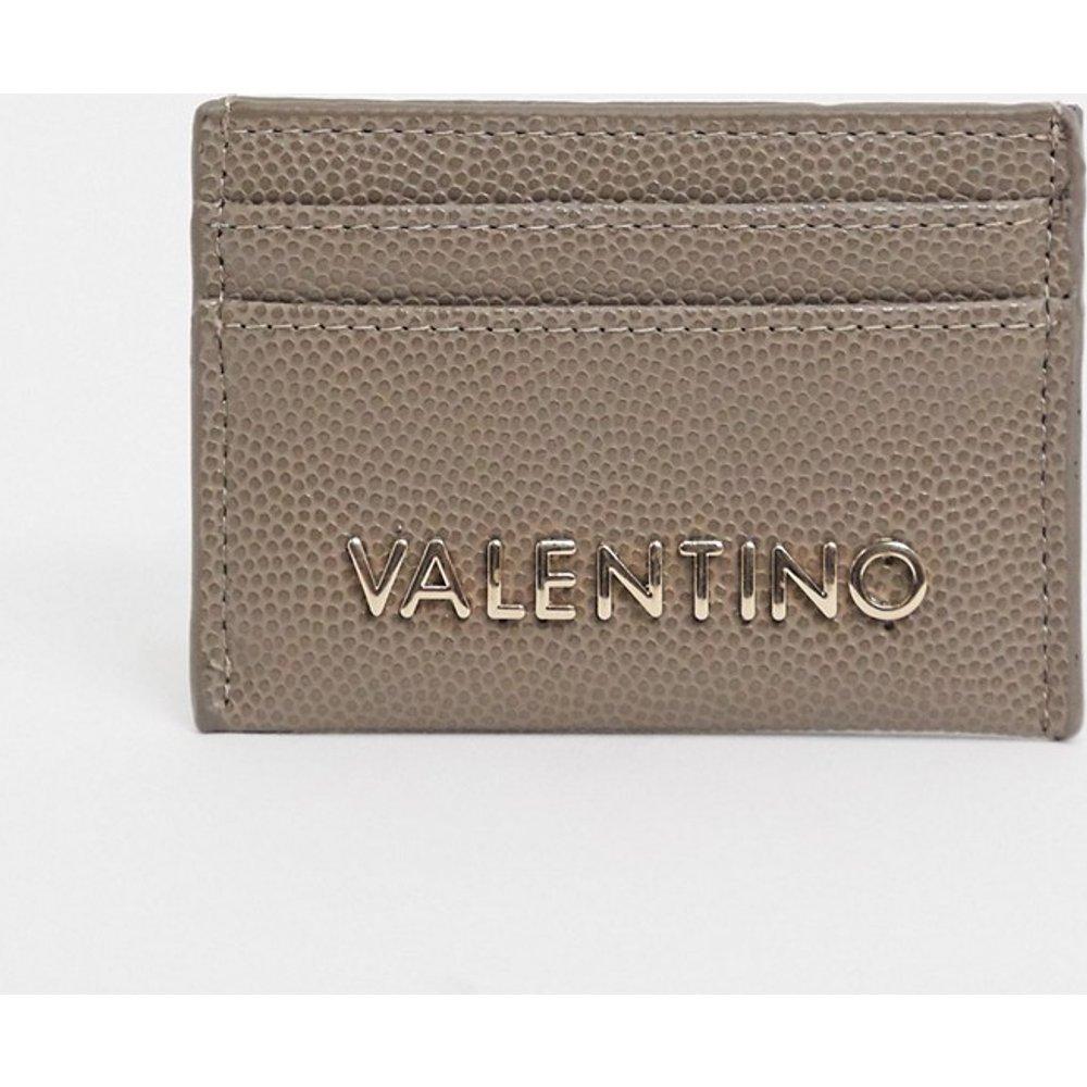 Exclusivité - Porte-cartes- Taupe - Valentino by Mario Valentino - Modalova