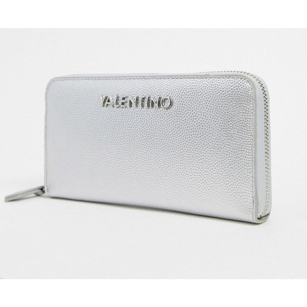 Porte-monnaie avec fermeture éclair sur le pourtour - Valentino by Mario Valentino - Modalova
