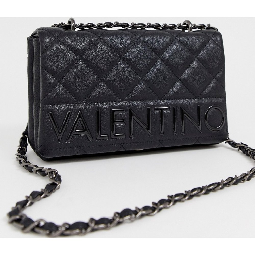Sac porté épaule avec rabat matelassé - Valentino by Mario Valentino - Modalova