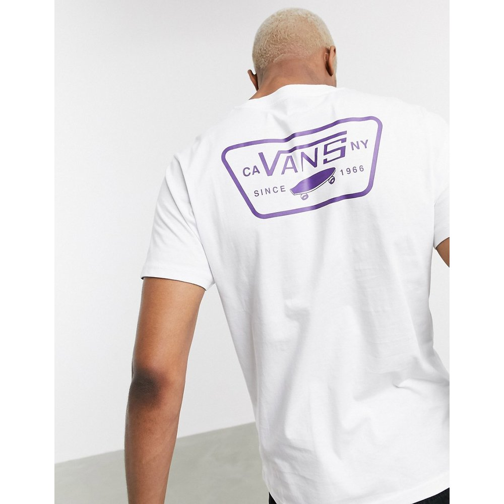 Full Patch - T-shirt avec imprimé au dos - /violet - Vans - Modalova