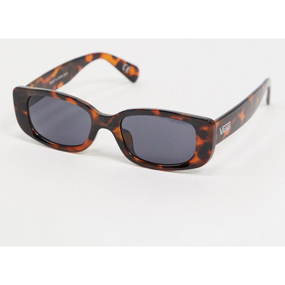 Lunettes de soleil carrées motif écailles guépard - Vans - Modalova