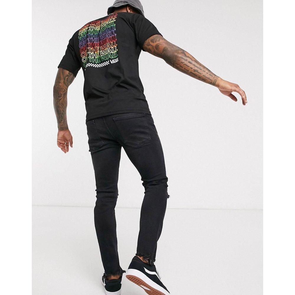 Rainbow Repeat- T-shirt - Noir - Vans - Modalova