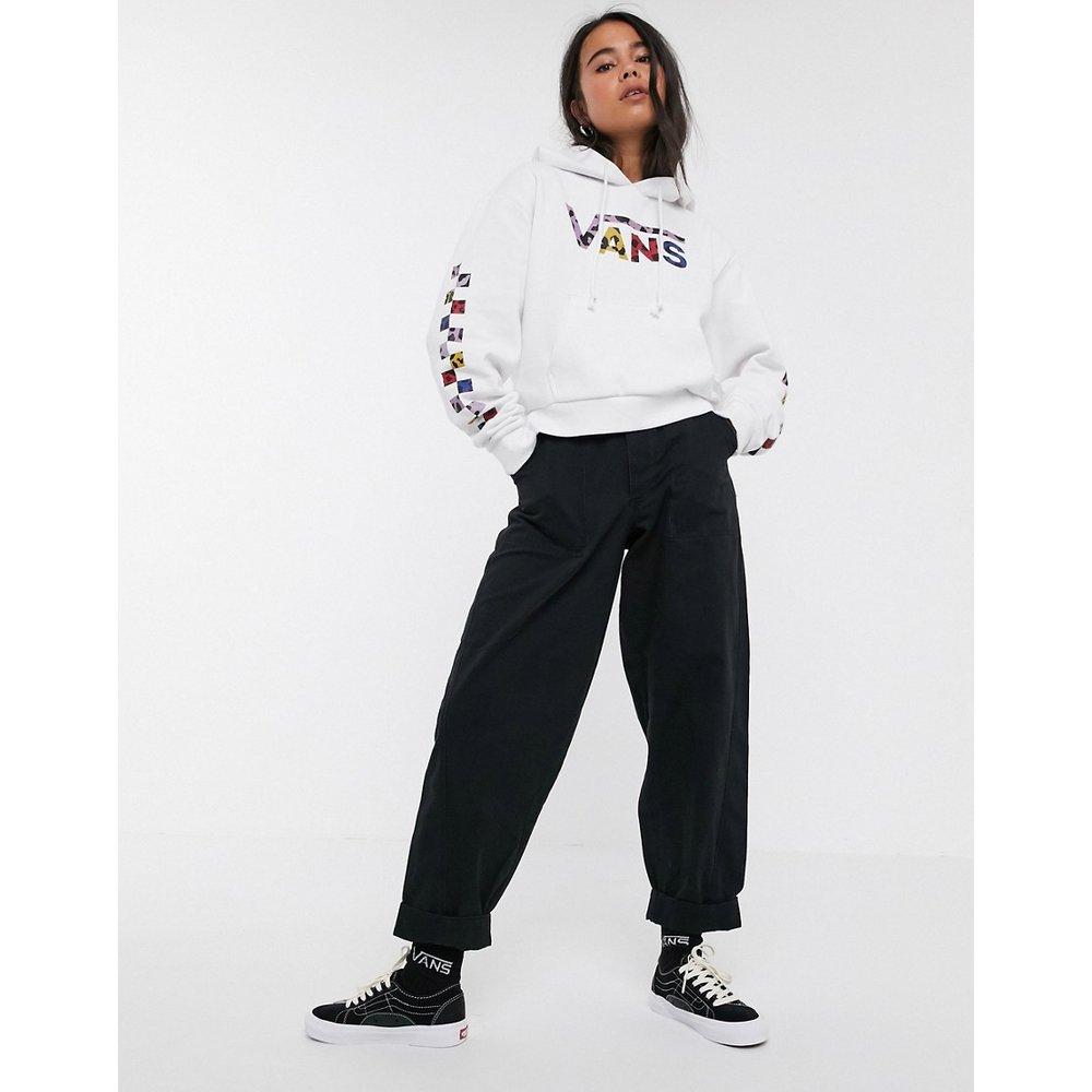 Sweat-shirt court avec logo léopard - Vans - Modalova