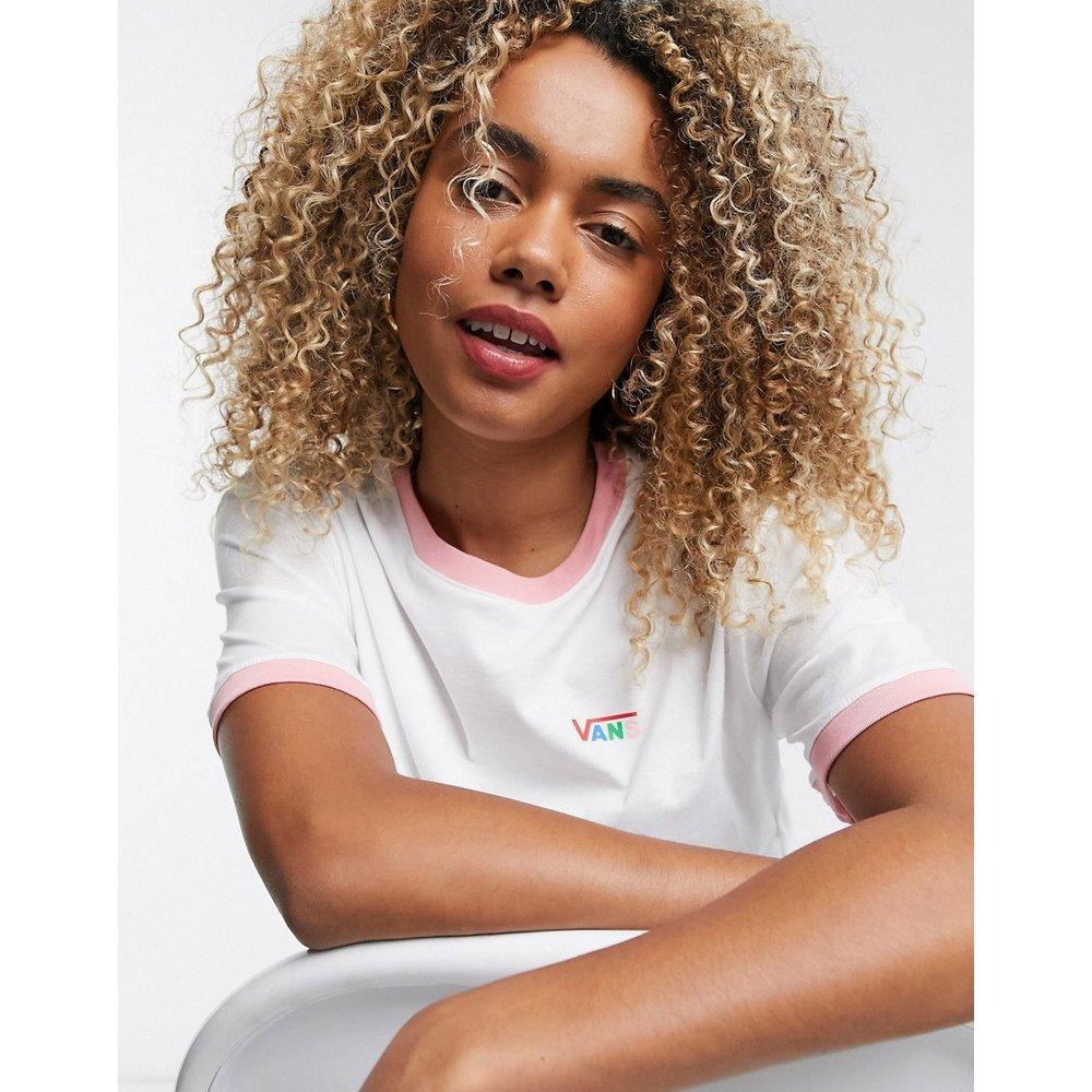 T-shirt crop top coupe carrée - Vans - Modalova