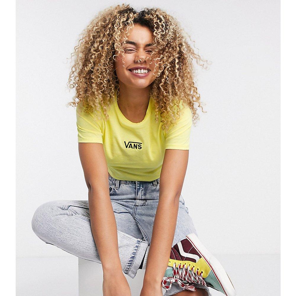 T-shirt crop top - Jaune - Exclusivité ASOS - Vans - Modalova