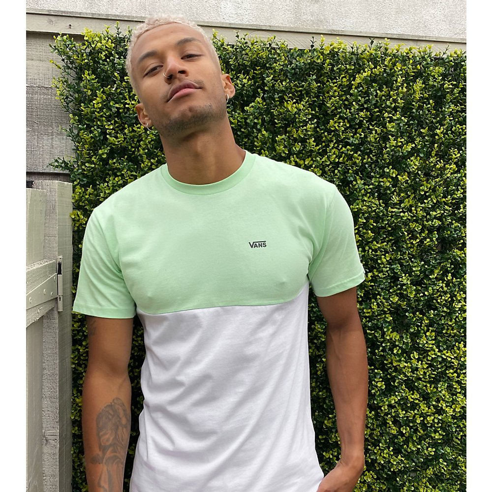 T-shirt effet color block - pastel - Exclusivité ASOS - Vans - Modalova