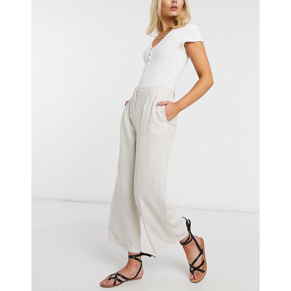 Pantalon court en lin - Vero Moda - Modalova