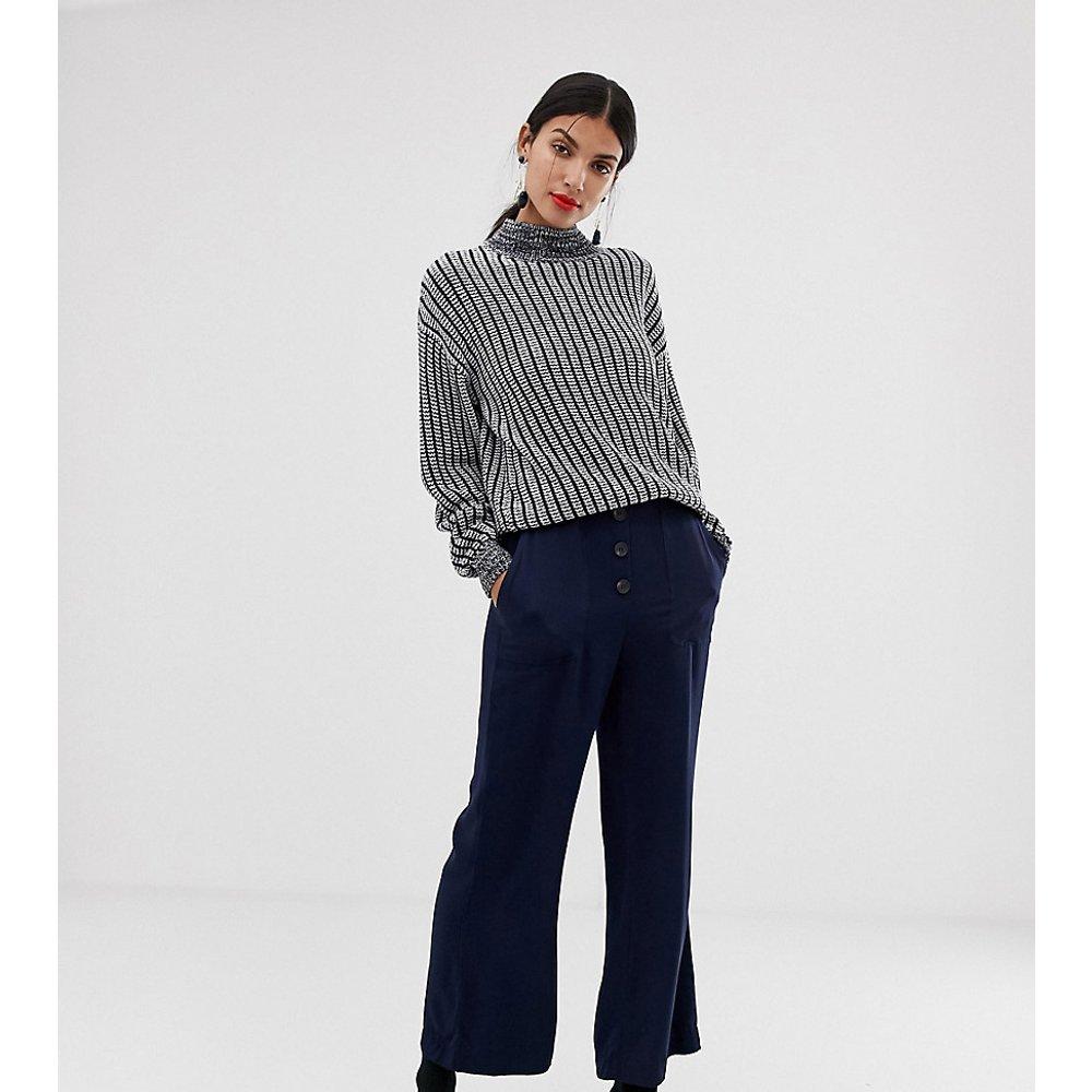Pantalon évasé fonctionnel - Bleu marine - Vero Moda Tall - Modalova
