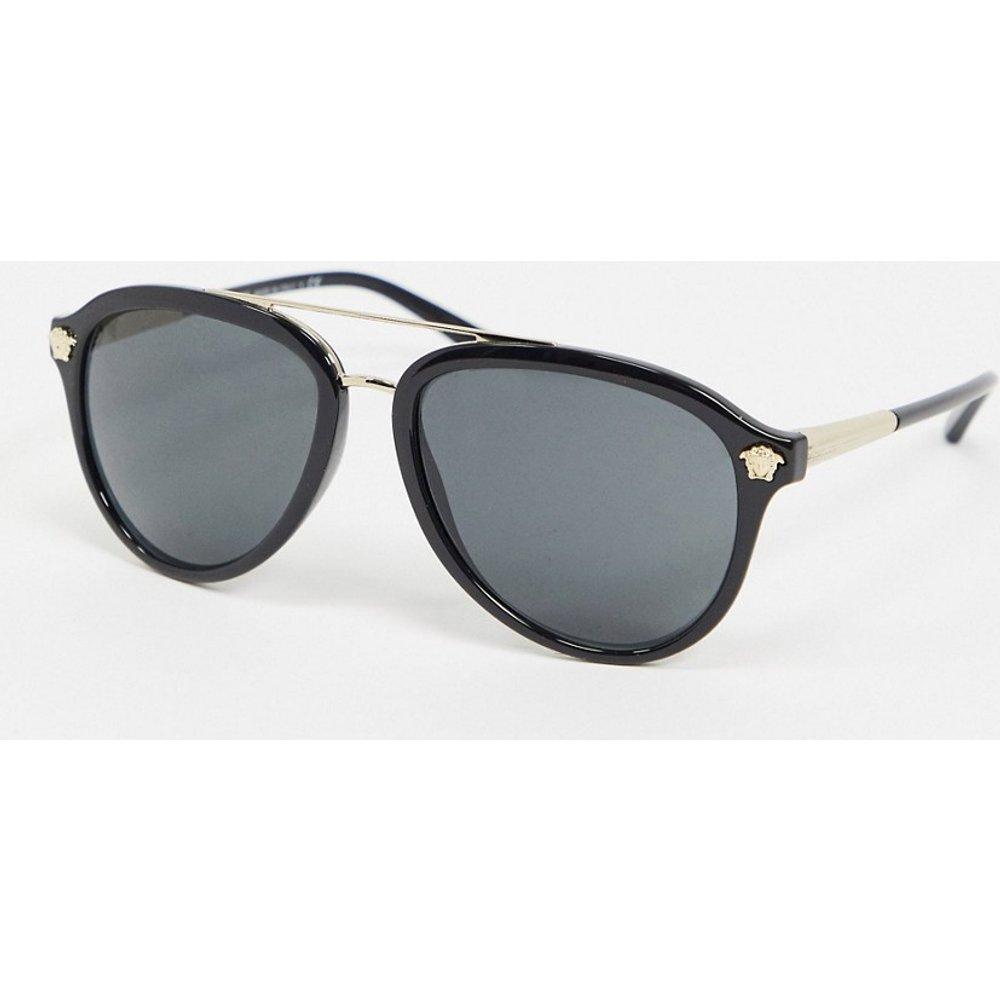 VE4341 - Lunettes de soleil aviateur - Versace - Modalova