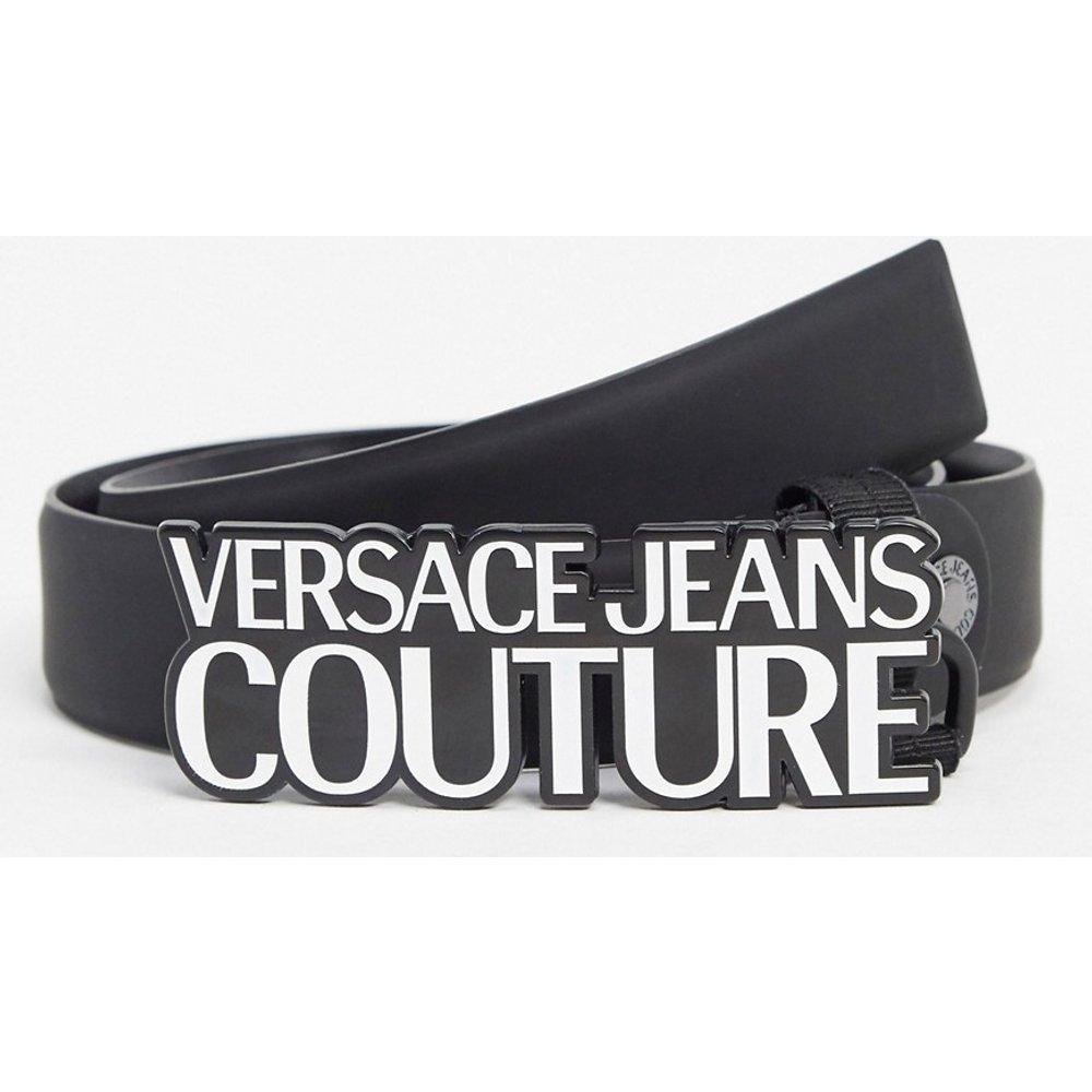Ceinture avec boucle à logo - Versace Jeans Couture - Modalova