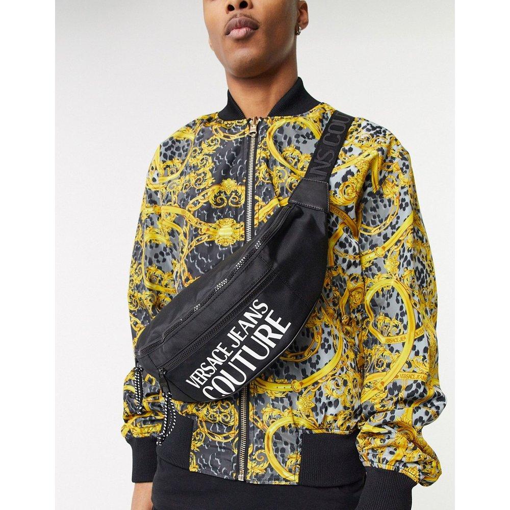 Sac banane à logo - Versace Jeans Couture - Modalova