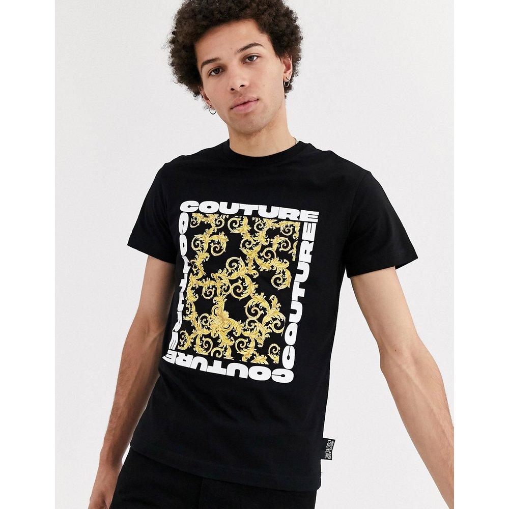 T-shirt imprimé baroque - Versace Jeans Couture - Modalova