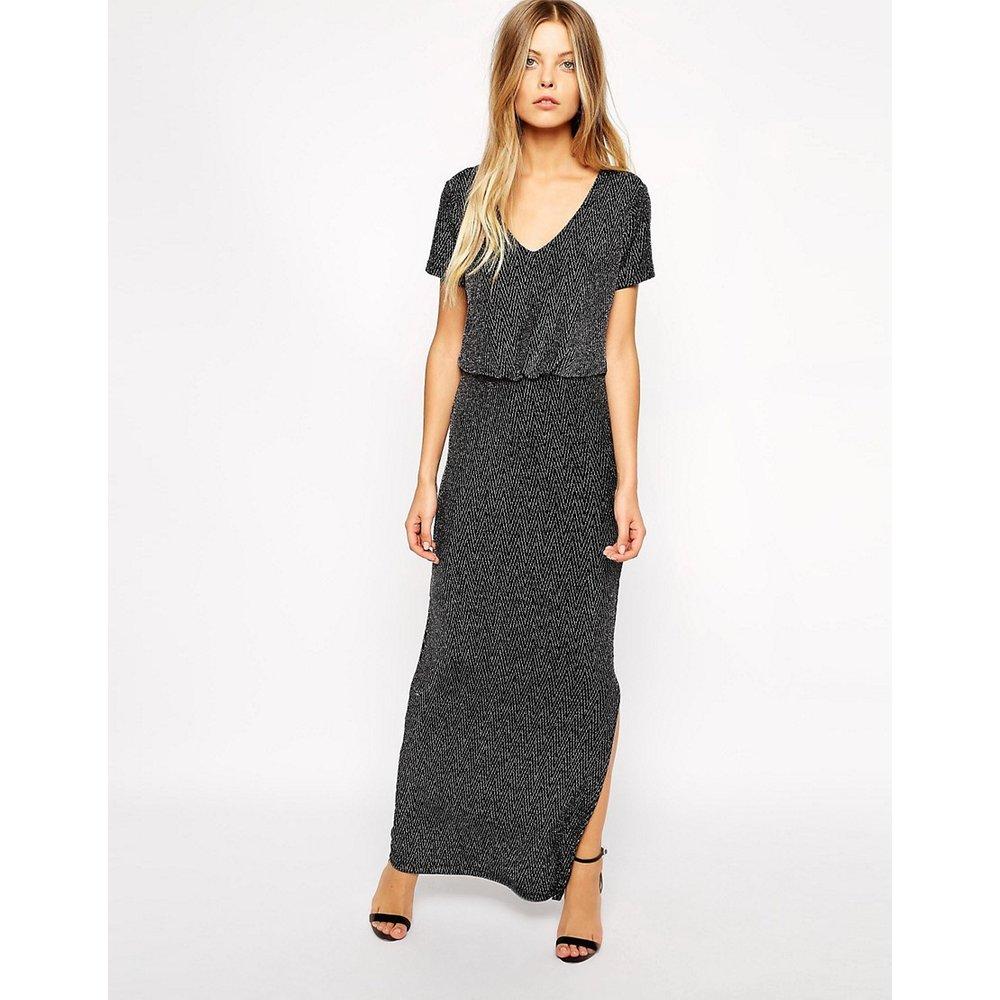 Maxi robe à encolure en V - Vila - Modalova