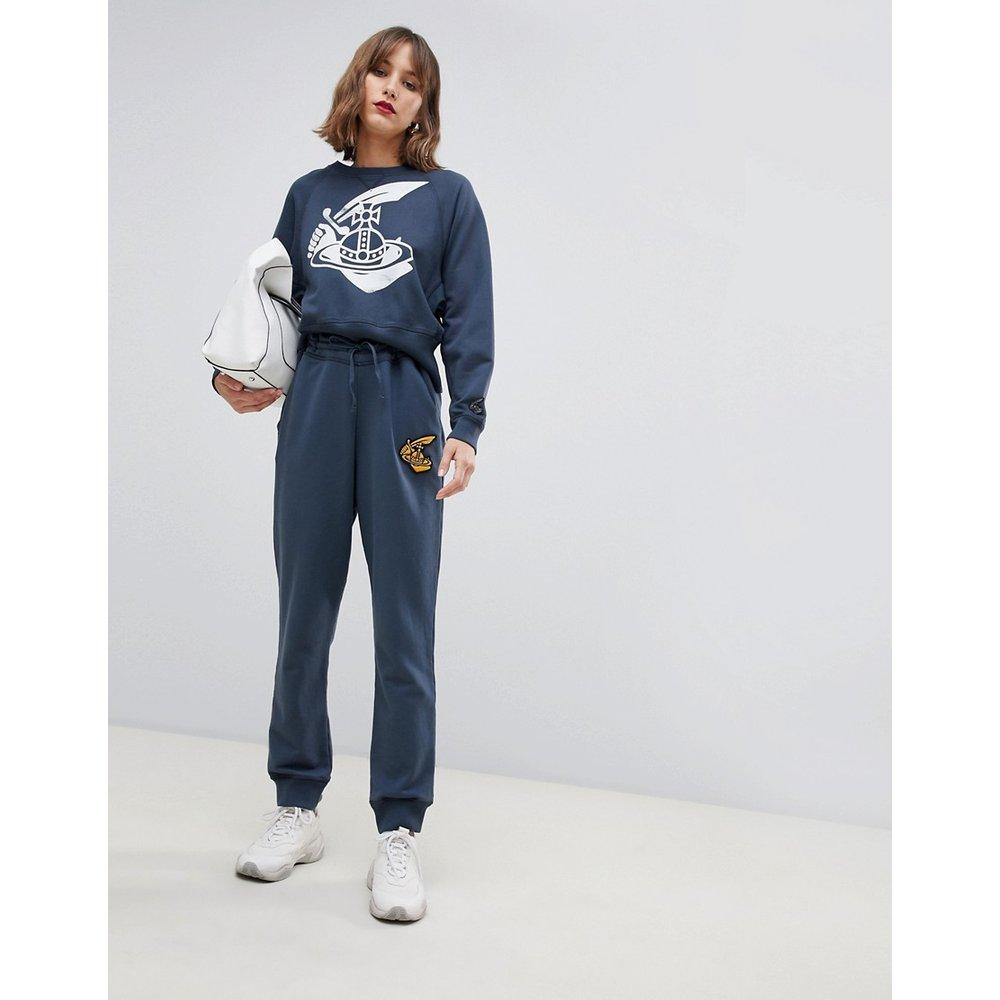 Pantalon de survêtement à logo - Vivienne Westwood Anglomania - Modalova