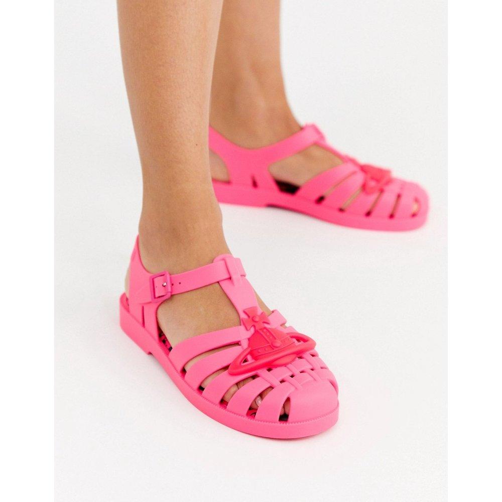 Sandales souples avec bordure griffée - Vivienne Westwood for Melissa - Modalova