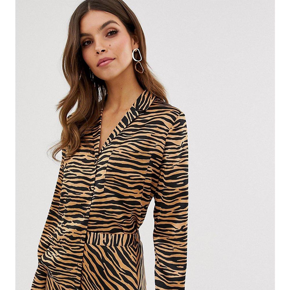 Chemise à imprimé tigre - Warehouse - Modalova