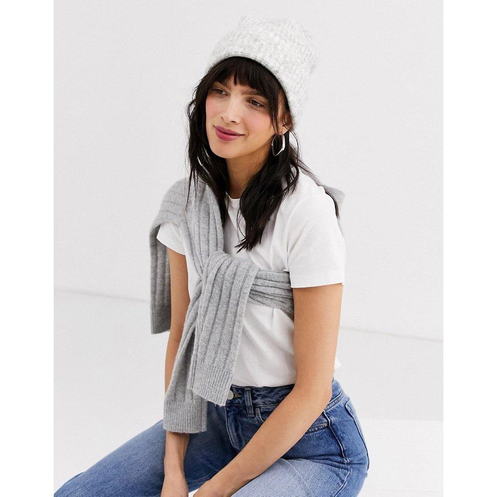 Bonnet en maille - chiné - Weekday - Modalova