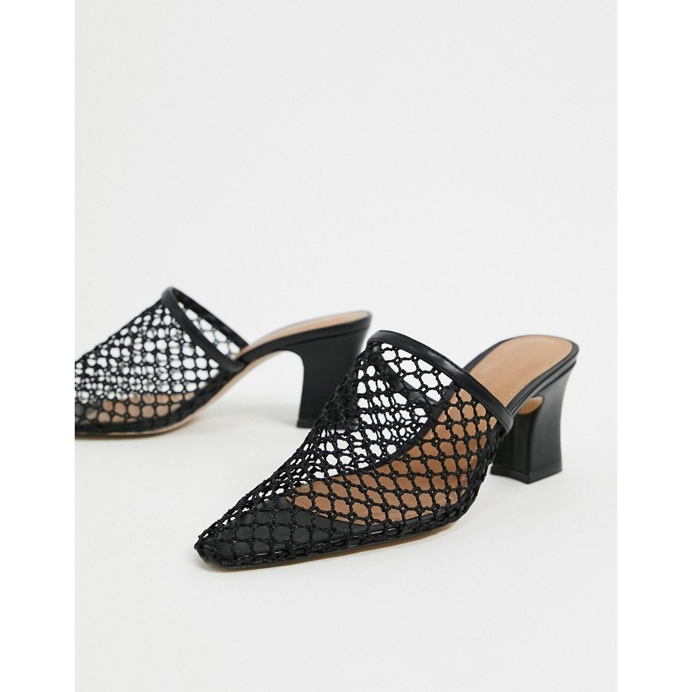 Skye - Mules à talons - Cuir - Who What Wear - Modalova