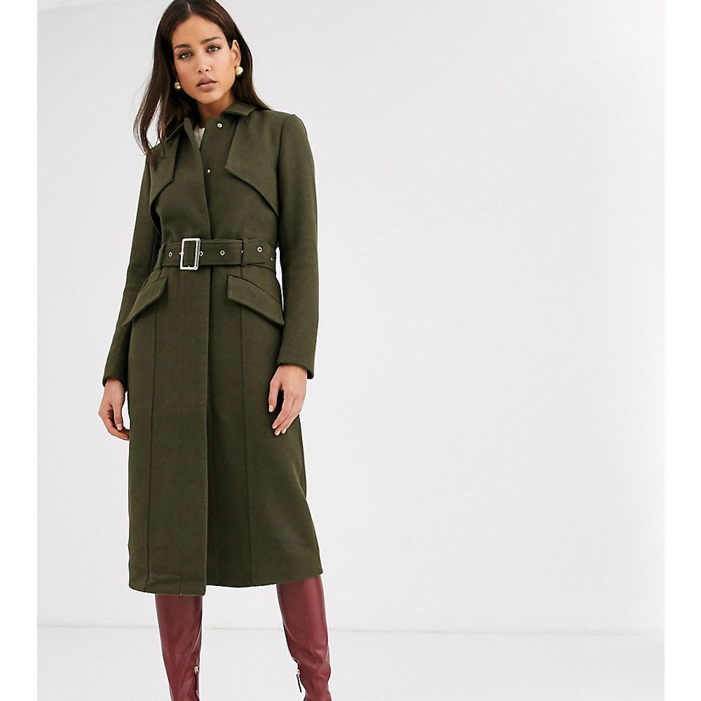 Manteau à ceinture style militaire - Y.A.S Tall - Modalova