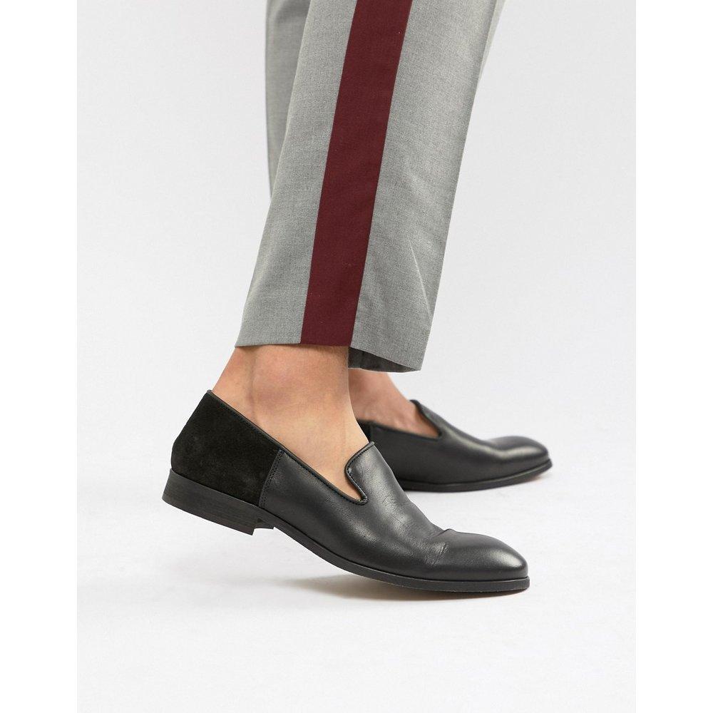 Mocassins style chaussons en cuir et daim - Zign - Modalova
