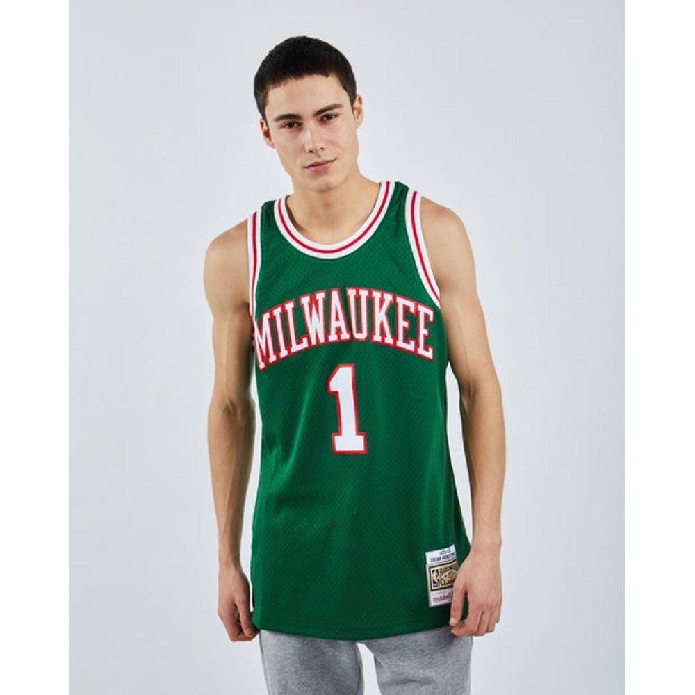 NBA Basketball Paris Swingman Jersey Oscar Robertson - Homme Vestes - Mitchell and Ness - Modalova