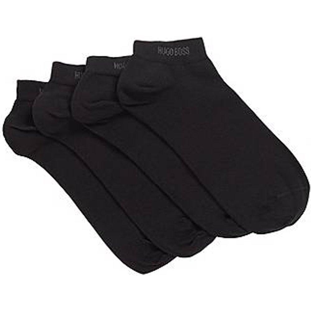 Lot de deux paires de chaussettes basses en coton mélangé - Boss - Modalova