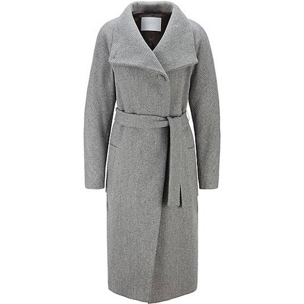 Manteau Regular Fit en laine mélangée à teneur en cachemire - Boss - Modalova