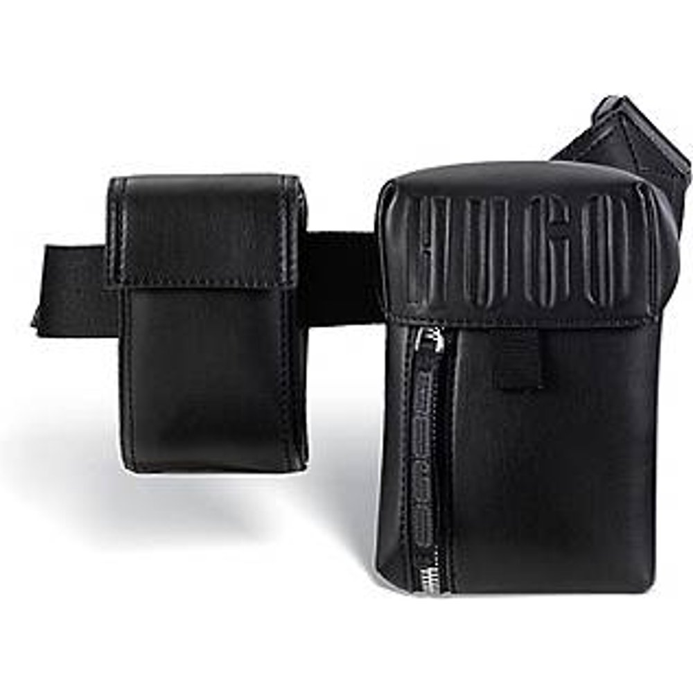 Sac ceinture en similicuir à logo embossé - HUGO - Modalova