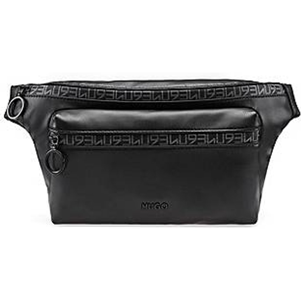 Sac ceinture en similicuir avec bande zippée 93 - HUGO - Modalova