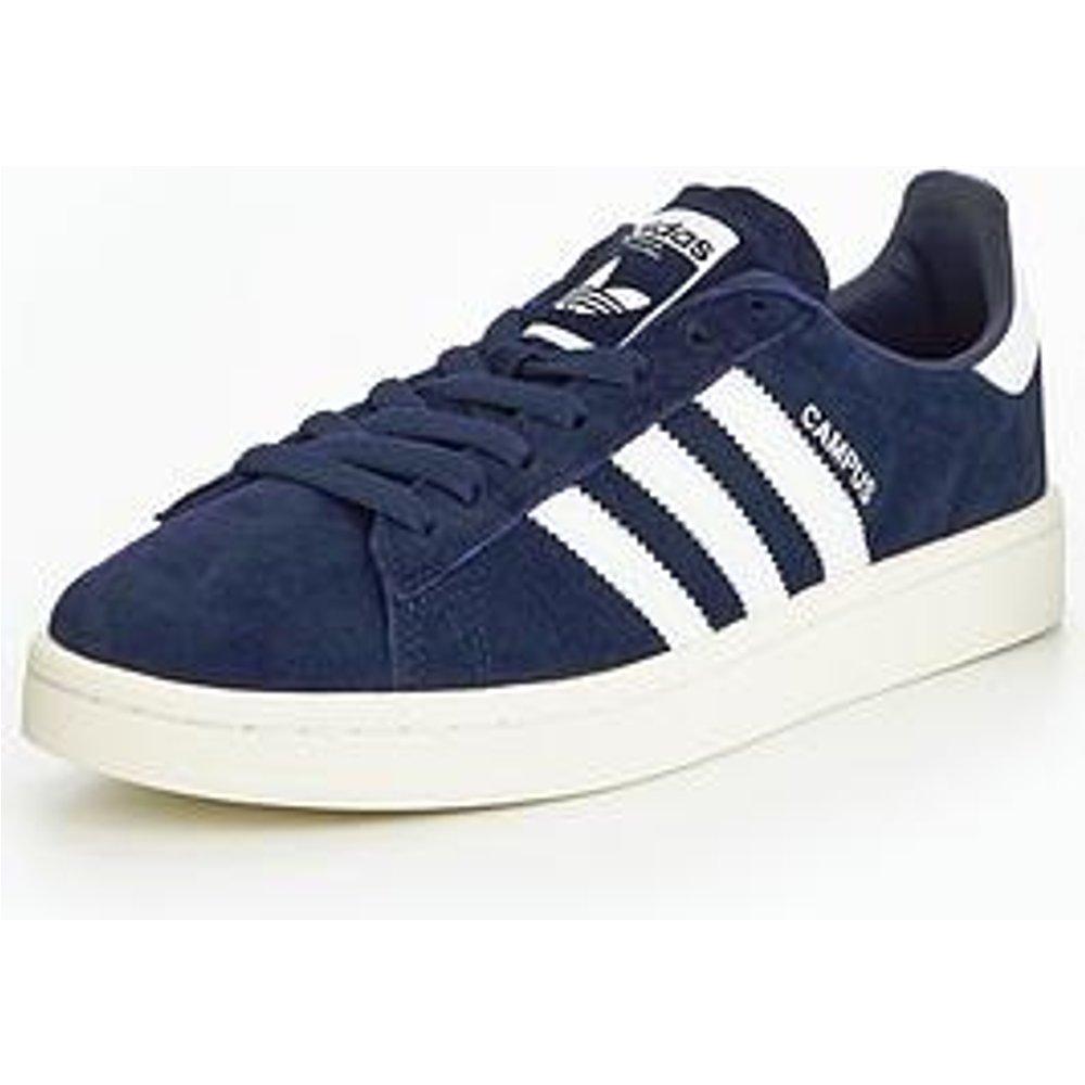 adidas Mens Campus Trainers, Blue Dark BlueFootwear WhiteChalk White, 6 UK 39 13 EU