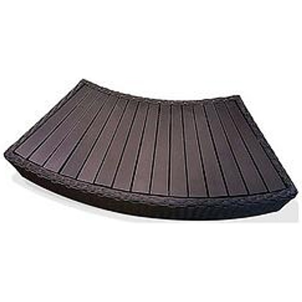 Canadian Spa Company Brown Rattan Spa Step