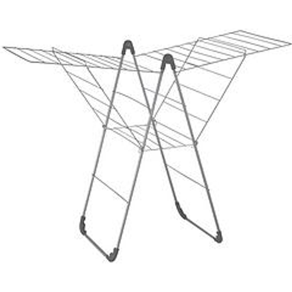 Folding Winged Clothes Airer