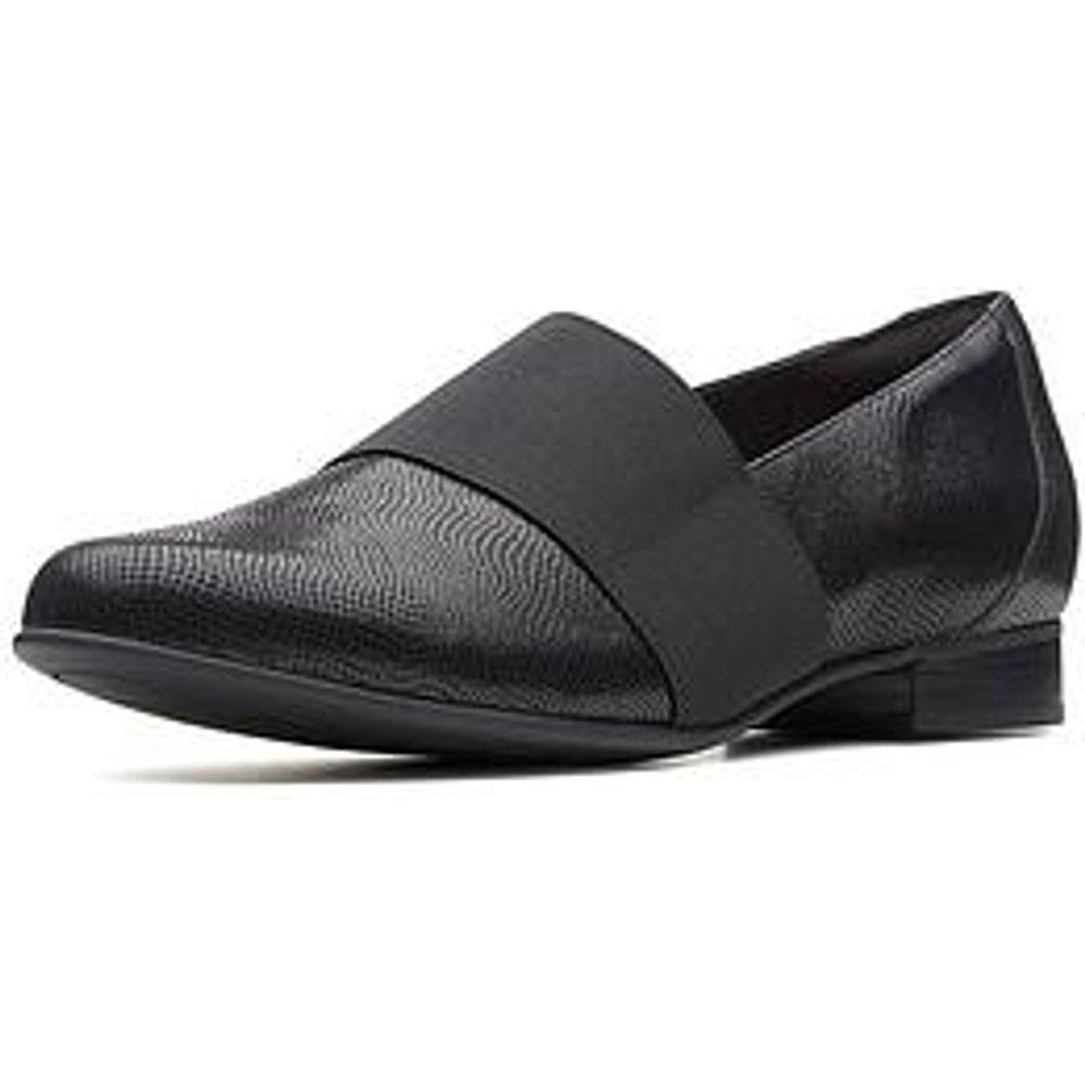 Clarks Un Blush Lo Loafer - Black