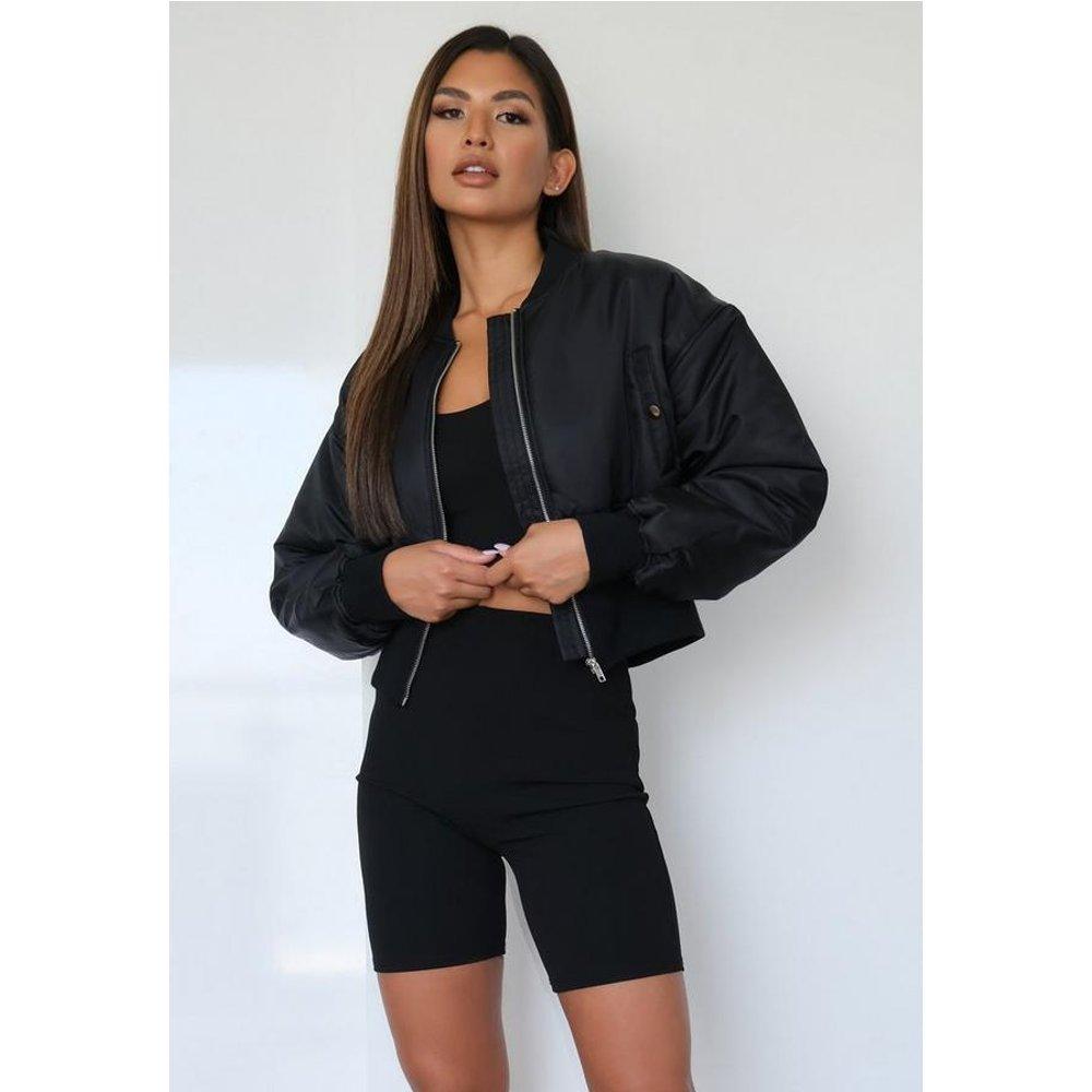 Veste bomber style corset - Missguided - Modalova